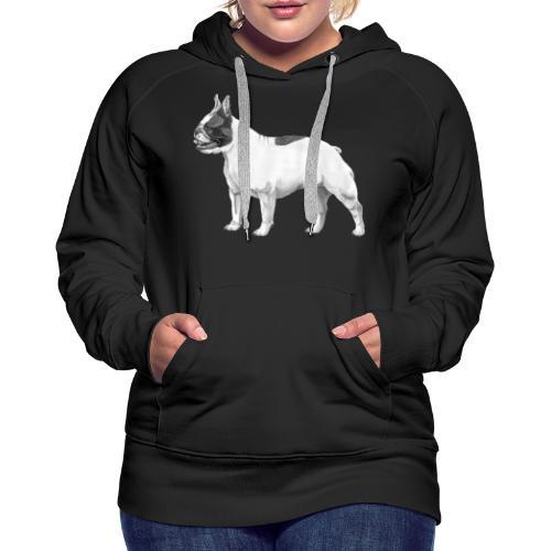 French Bulldog - Dame Premium hættetrøje