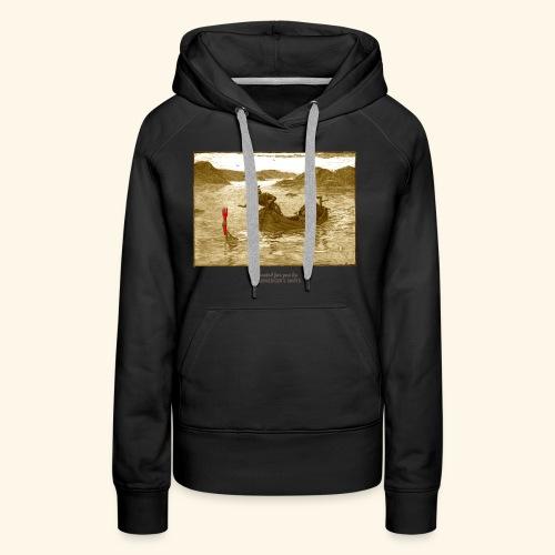 Geek T Shirt Excalibur 2.0 - Frauen Premium Hoodie