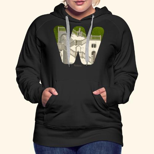 Wuppertal T-Shirt Vogelsauer Treppe - Frauen Premium Hoodie