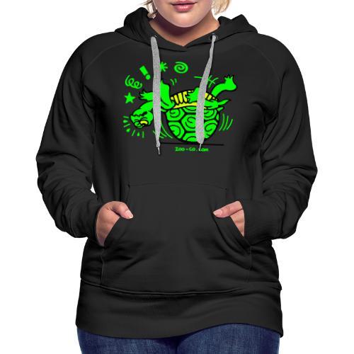 Unlucky Turtle - Women's Premium Hoodie