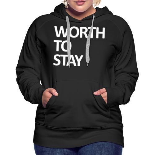 Worth - Frauen Premium Hoodie