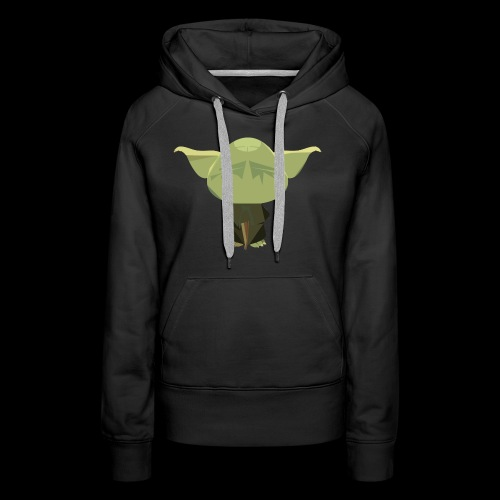 Old Master Yoda - Women's Premium Hoodie