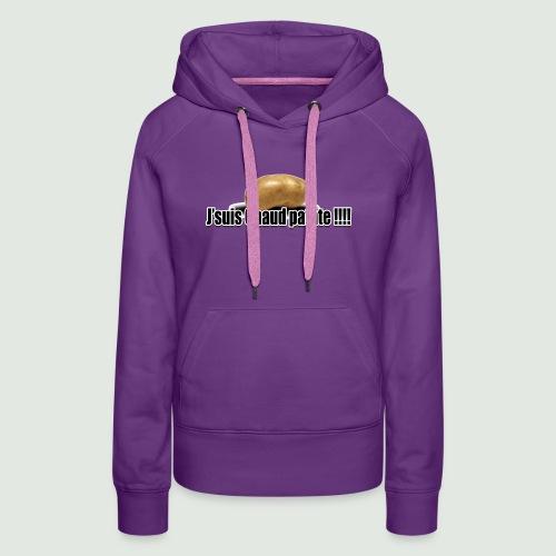 chaud patate 2.1 - Sweat-shirt à capuche Premium pour femmes