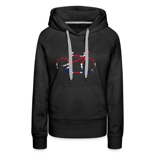 GB Cycling Chain Print - Women's Premium Hoodie