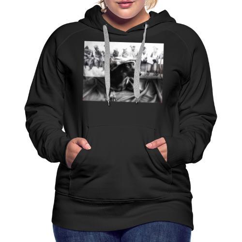 Sky Dog 2 - Frauen Premium Hoodie