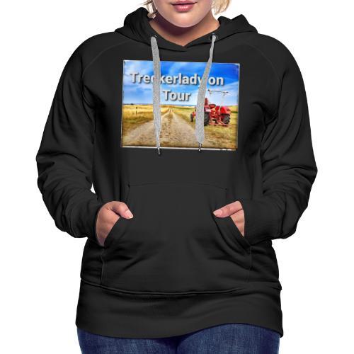Treckerlady on Tour - Frauen Premium Hoodie