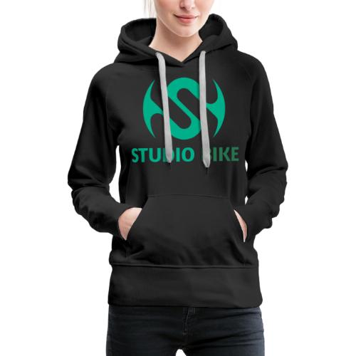 full trimmed transparent base 2 - Women's Premium Hoodie