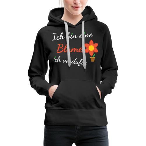 Blume Garten Gärtner Florist Shirt Geschenk - Frauen Premium Hoodie