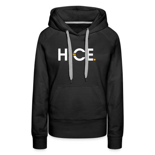 HICE cap - Women's Premium Hoodie