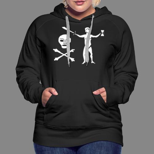 Jean Thomas Dulaien Flag - Sweat-shirt à capuche Premium pour femmes