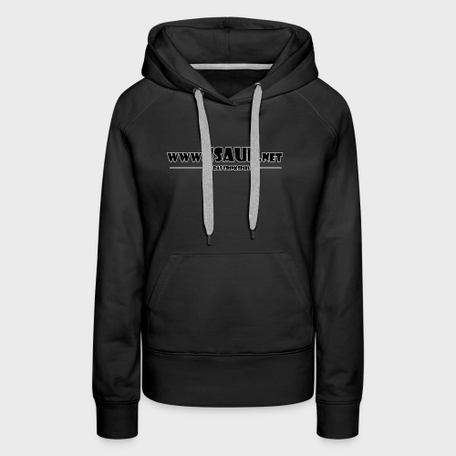 iSauf Logo 3 - Frauen Premium Hoodie