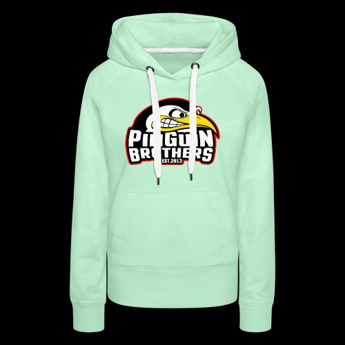 Pinguin bracia Clan - Bluza damska Premium z kapturem
