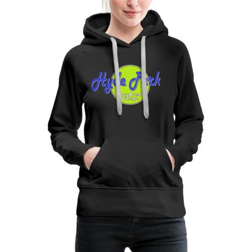 HydePark PopArtGreen - Frauen Premium Hoodie
