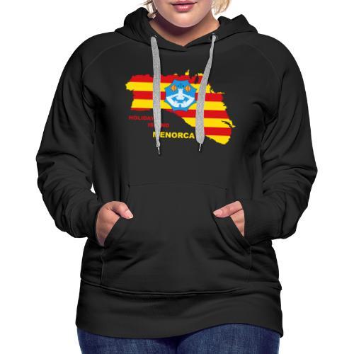 Menorca Urlaub Insel Spanien Balearen - Frauen Premium Hoodie