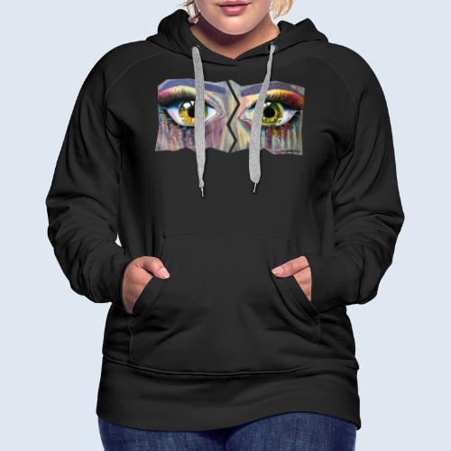 NEU! Open Eyes - Frauen Premium Hoodie