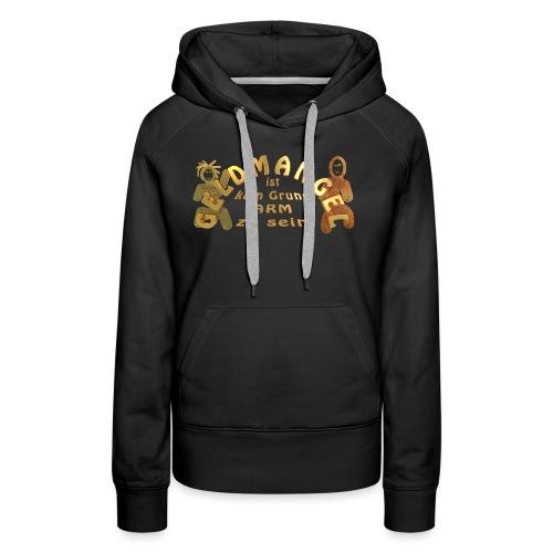 Geldmangel _gold_01 - Frauen Premium Hoodie