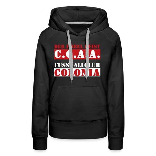 CCAA - Frauen Premium Hoodie