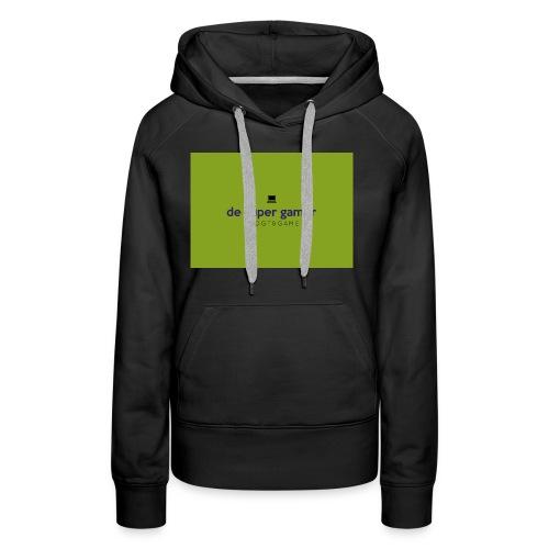 De super gamer - Vrouwen Premium hoodie
