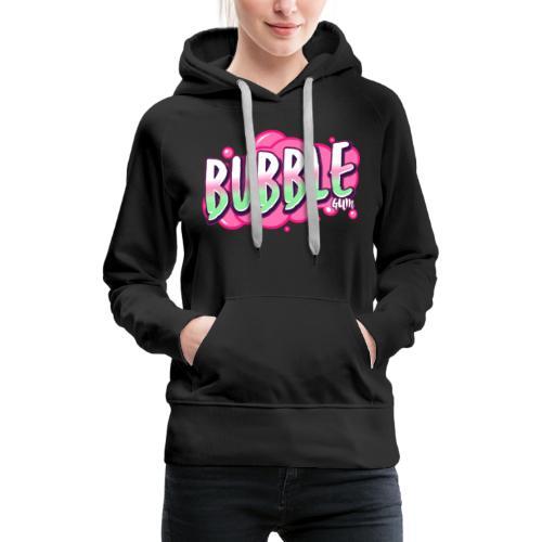 Bubble Gum - Frauen Premium Hoodie