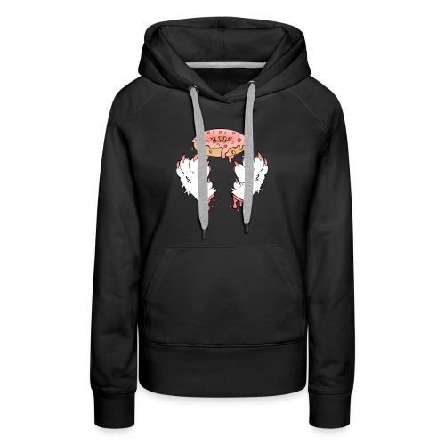 donut paws - Vrouwen Premium hoodie