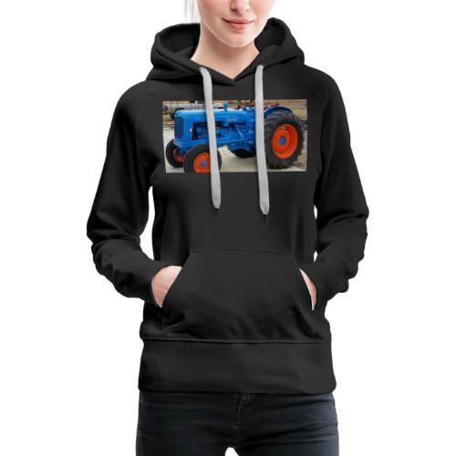 Traktor - Dame Premium hættetrøje