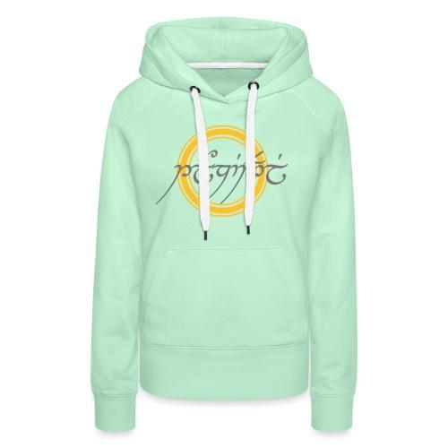 Tolkiendil Cercle 2 - Sweat-shirt à capuche Premium pour femmes