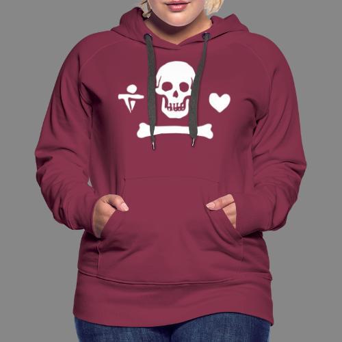 Stede Bonnet Flag - Sweat-shirt à capuche Premium pour femmes