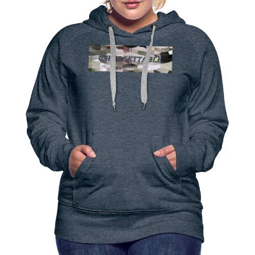 unforgettable - Sweat-shirt à capuche Premium pour femmes
