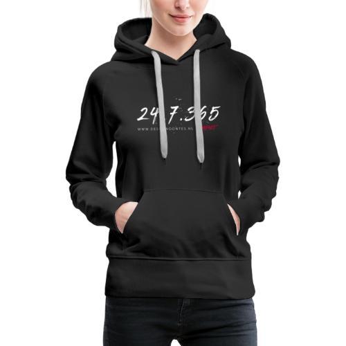 24/7/365 - Vrouwen Premium hoodie