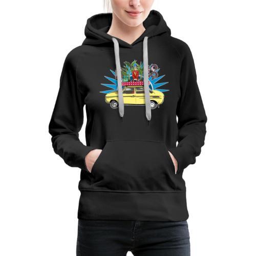 DJ Ago - Sweat-shirt à capuche Premium pour femmes