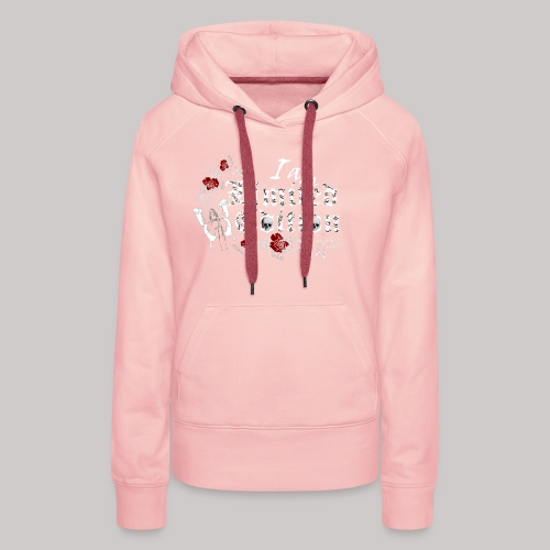 simply wild limited edition on black - Frauen Premium Hoodie