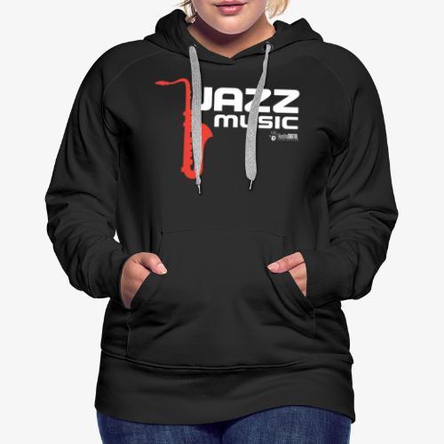 Jazz 02 - Sudadera con capucha premium para mujer