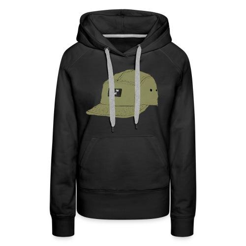 5 panel Get in line hoodie - Women's Premium Hoodie