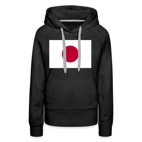 Small Japanese flag - Women's Premium Hoodie