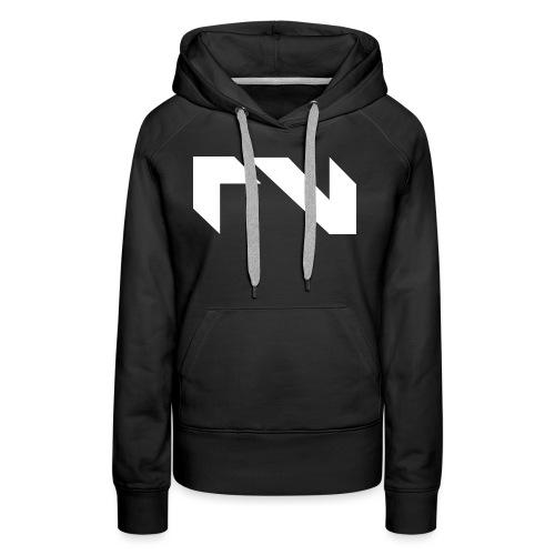 Logo white png - Vrouwen Premium hoodie