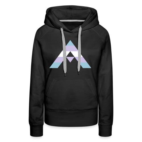 shirt_ally_trans - Premiumluvtröja dam