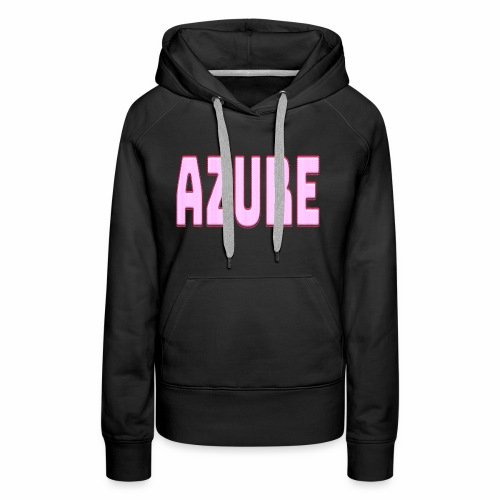 AZURE - Sweat-shirt à capuche Premium pour femmes