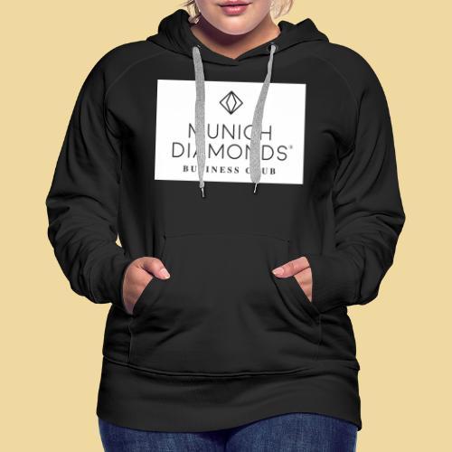 MDBC Logo weiss - Frauen Premium Hoodie