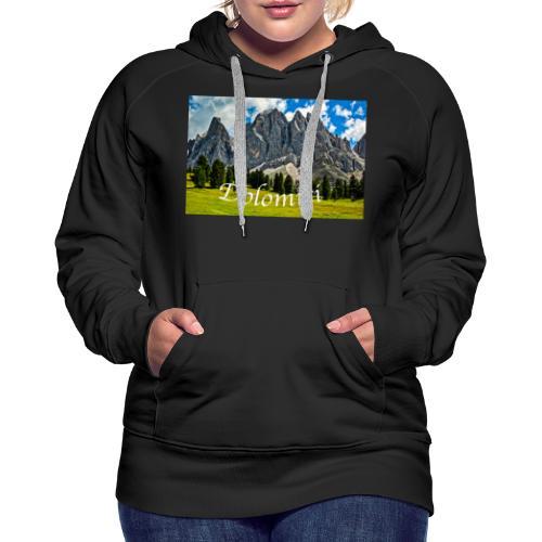 Naturpark Puez Geisler - Frauen Premium Hoodie