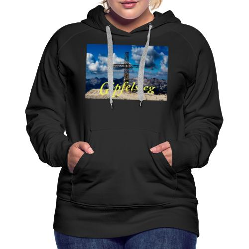 Gipfelsieg - Frauen Premium Hoodie