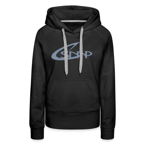 logo csmp simple - Sweat-shirt à capuche Premium pour femmes