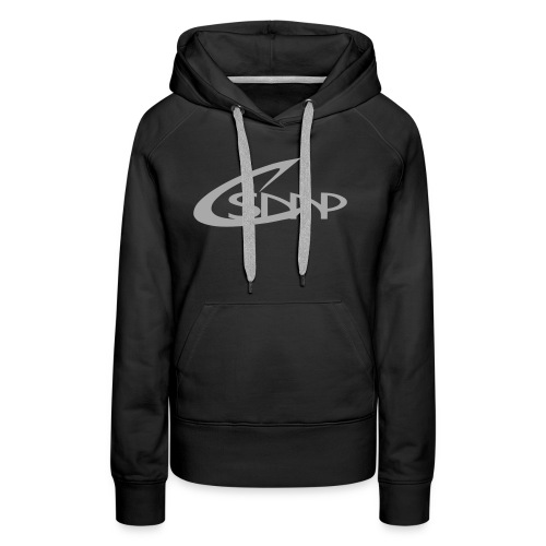 logo csmp simple - Sweat-shirt à capuche Premium pour femmes