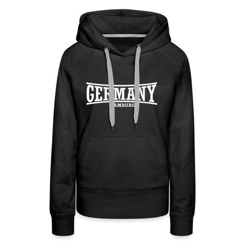 germany-hamburg-weiß - Frauen Premium Hoodie