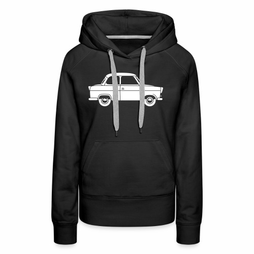 Trabant 500 Coupé 1c - Women's Premium Hoodie