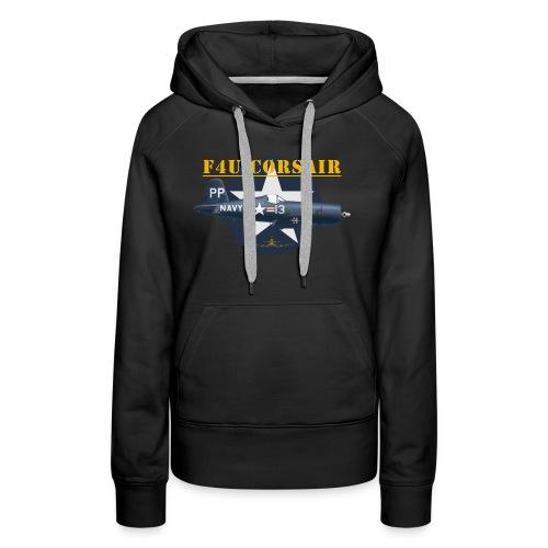 F4U-5P shirt design - Women's Premium Hoodie