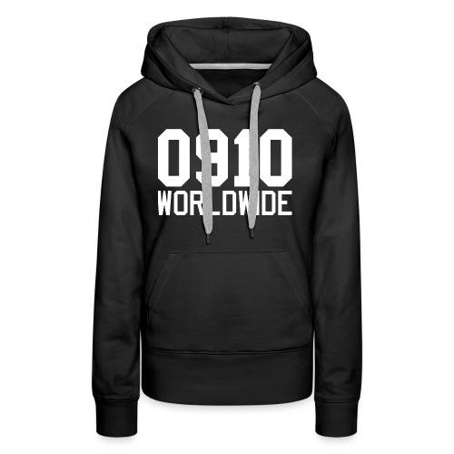 0910 WORLDWIDE CREW CAP - Premiumluvtröja dam