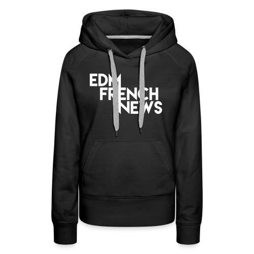 Casquette EFN - Sweat-shirt à capuche Premium pour femmes
