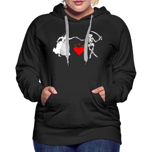 Jacquotte Delahaye - Sweat-shirt à capuche Premium pour femmes