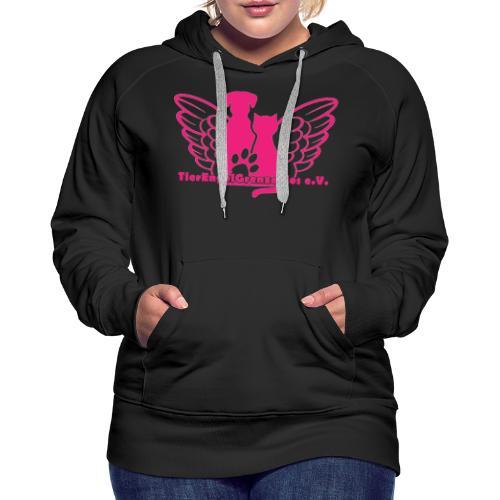 Tierengel Grenzenlos - Frauen Premium Hoodie