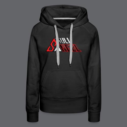 SkullAngel - Sweat-shirt à capuche Premium pour femmes